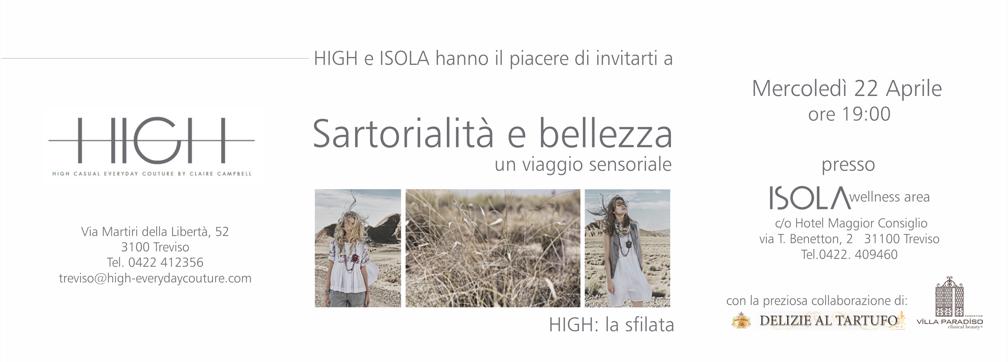 Sartorialita e bellezza - Isola Treviso e Padova