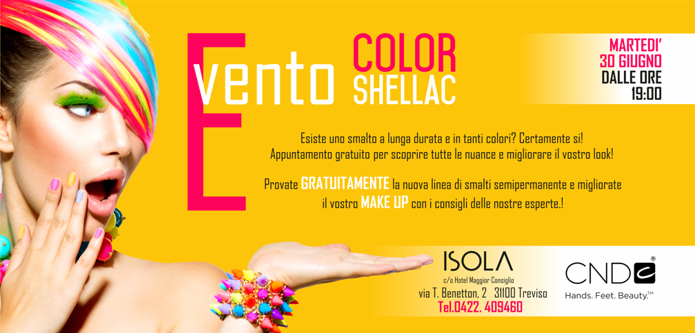 color scellac flyer